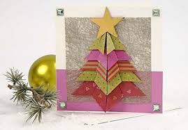 roundup 9 folded paper tree card tutorials