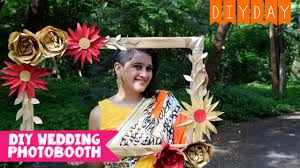 diy photo booth frame diy photo booth frame wedding sangeet mehendi diy day