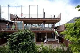 stunning and cool deck house design by tezuka architects home