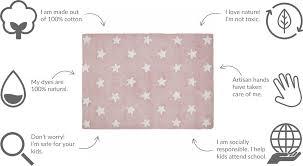 Pink Star Rug Lorena Canals Stars Rug Pink 4 U0027 X 5 U0027 3