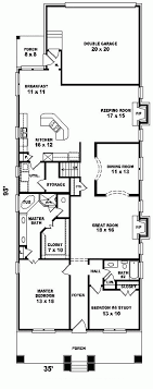 narrow lot house plans with rear garage apartments house plans narrow lots narrow lot apartments bedroom