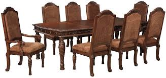 Custom Made Dining Room Furniture North Shore Rectangular Extendable Dining Table From Ashley D553