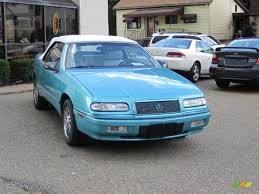 chrysler lebaron 1993 aqua pearl chrysler lebaron convertible 35177813 gtcarlot
