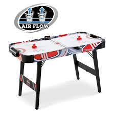 foldable air hockey table foldable 48 air powered hockey game table with ul certified motor