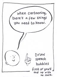 speech bubble activity cartooning for kids getting started