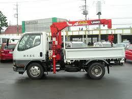 mitsubishi truck 2000 1997 mitsubishi canter truck 2ton crane japanese used truck buy