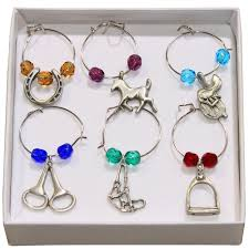 equestrian wine charms dover saddlery