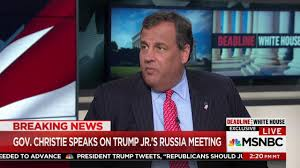 christie denies trump scolded him about obama election call nbc news