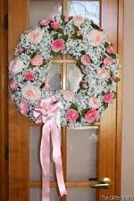 shabby chic wreaths flowers ebay