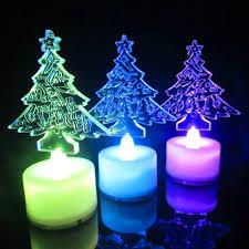 origin of christmas lights acrylic santa claus christmas tree discus a night light christmas