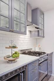 Cabinet Colors For Small Kitchen This Is It White Cabinets Subway Tile Quartz Countertops