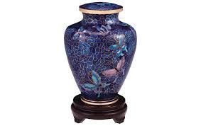 butterfly urn courteous caskets nouveau butterfly cloisonné urn
