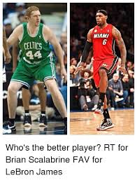 Brian Scalabrine Memes - celtics miami who s the better player rt for brian scalabrine fav