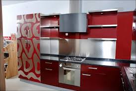 commercial kitchen backsplash kitchen inspiring fiber kitchen cabinet silver backsplash