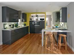 meuble cuisine et gris meuble de cuisine gris anthracite fashion designs