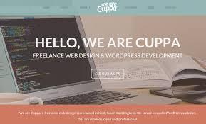 website homepage design clean ui trends for large website headers