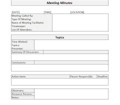 llc meeting minutes template