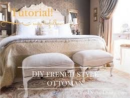 French Style Ottoman by French Style Ottoman How To Build Your Own Mydecordiary