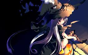 anime halloween screenheaven halloween dark witch desktop and mobile background