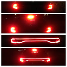 2013 dodge dart tail lights racetrack lighting before and after