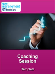 coaches report template coaching session template