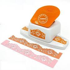 flower shape border punch foam paper embossing punch scrapbook