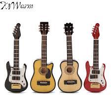 kiwarm new 1 12 scale dollhouse miniature guitar accessories