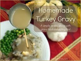 gravy recipe a simple and delicious turkey gravy