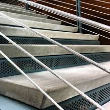 Non Slip Nosing Stairs by Flooring Non Slip Stair Treads With Multicolor Options Carpet