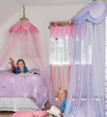 Girls Canopy Over Bed by Girls Will Have A Canopy Each In White Love The Butterflies