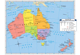 The Domain Map Australia And New Zealand Public Domain Maps By Pat The Free