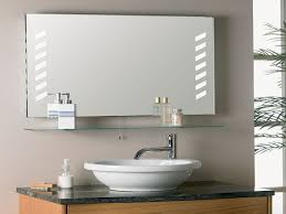 bathroom mirror with shelf wickes bathroom single mirror cabinet
