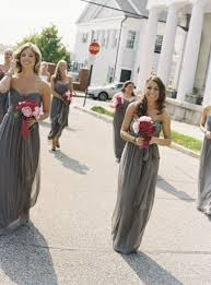 grey bridesmaid dresses wedding theme gray bridesmaid dresses 2067339 weddbook