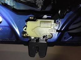 2005 honda civic trunk latch how to manually open trunk from inside rsx message board
