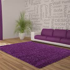 Thick Pile Rug Large Purple Rugs Roselawnlutheran