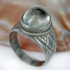 gemstone rings silver images Skj jewelry vintage old silver ring quartz gemstone ring jpg