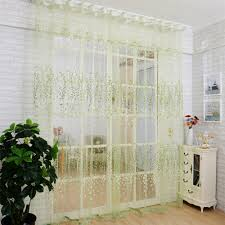 French Door Valances Superior Valances Wintersweet Floral Tulle Voile Door Window Cur