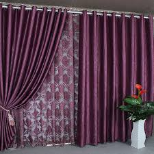 Purple Drapes Or Curtains Thermal And Energy Saving Curtains And Drapes In Purple Color