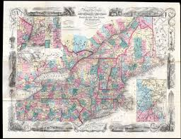 File Map Of New York File 1856 Colton Pocket Map Of New England New York