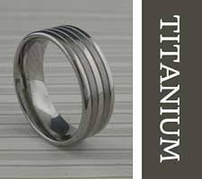 titanium wedding bands unique titanium wedding rings