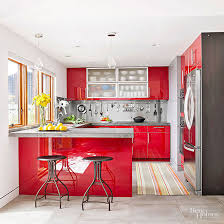 Kitchen Red | red kitchen design ideas