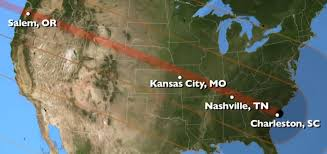 Kansas City Zip Code Map Solar Eclipse Will Be Stunning Spectacle Wtop