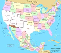 usa map map usa y mexico maps of usa and lapiccolaitalia info