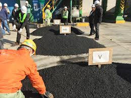member enews february 2016 mn asphalt pavement association during a tour of rap plant the u s tour group was shown small piles of