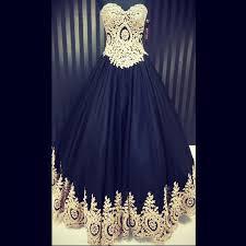 Black And Gold Lace Prom Dress Plus Size Wedding Dresses Backless Black Vintage Wedding Dress