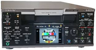 hdv cassette magnetoscopehdvsony