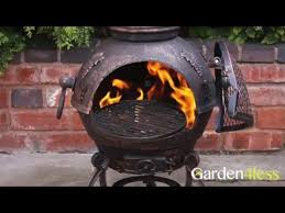 Build Your Own Chiminea How To Build A Cast Iron Chiminea Youtube