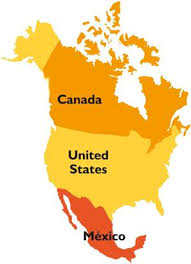 map of united states canada map of the us and mexico major tourist attractions maps