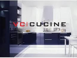 High Gloss L Shape Blue Lacquer Finishing Kitchen Cabinet VVC - High gloss lacquer kitchen cabinets
