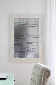 Dry Erase Board Decorating Ideas Diy Framed Dry Erase Board Love Grows Wild